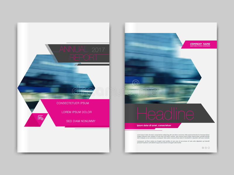 Cover design annnual report, flyer, presentation, brochure. Cover design annual report,vector template brochures, flyers, presentations, leaflet, magazine a4 royalty free illustration