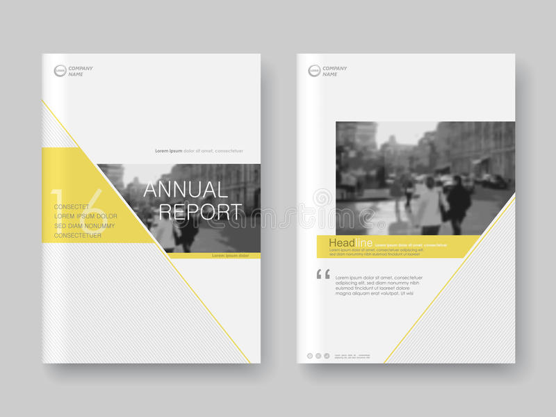 Cover design annual report,vector template brochures royalty free illustration