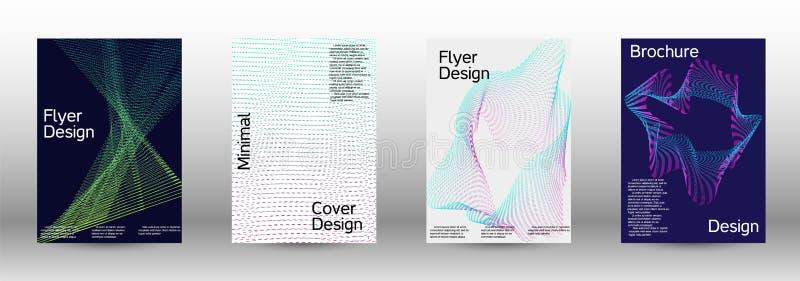 Cover design template set stock photo