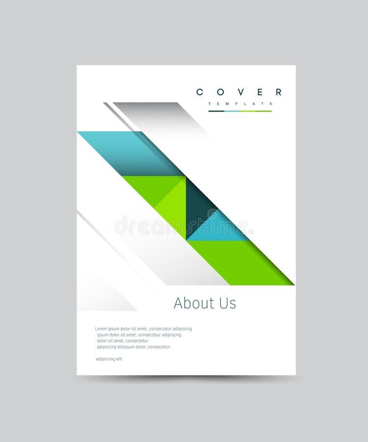Cover Design Vector Template For Brochure Annual Report Magazine