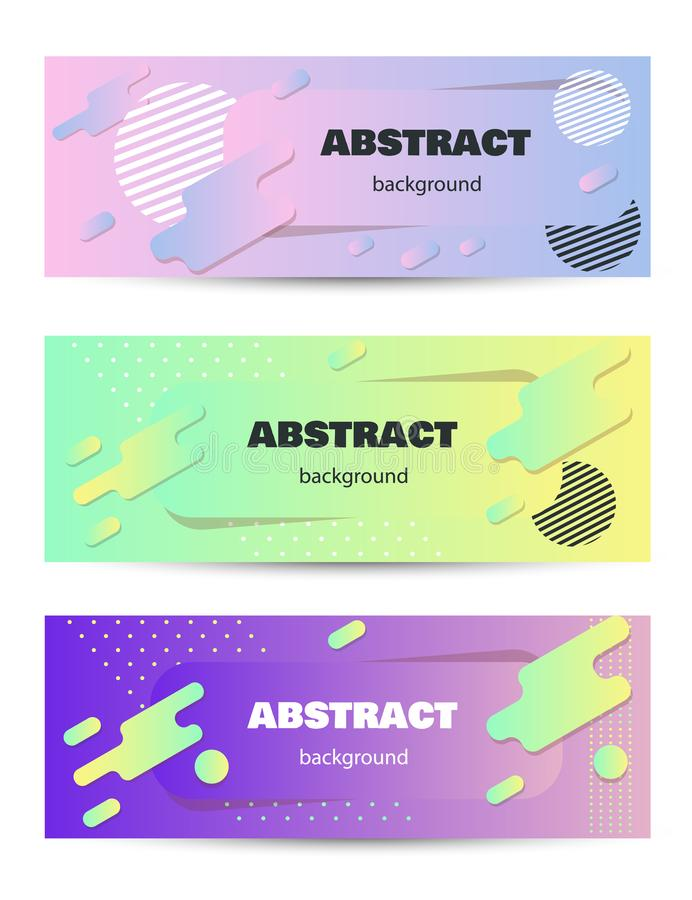 Cover geometric minimal. Set. Vector abstract line pattern for poster design. Set of templates for business brochures. Cool vector illustration
