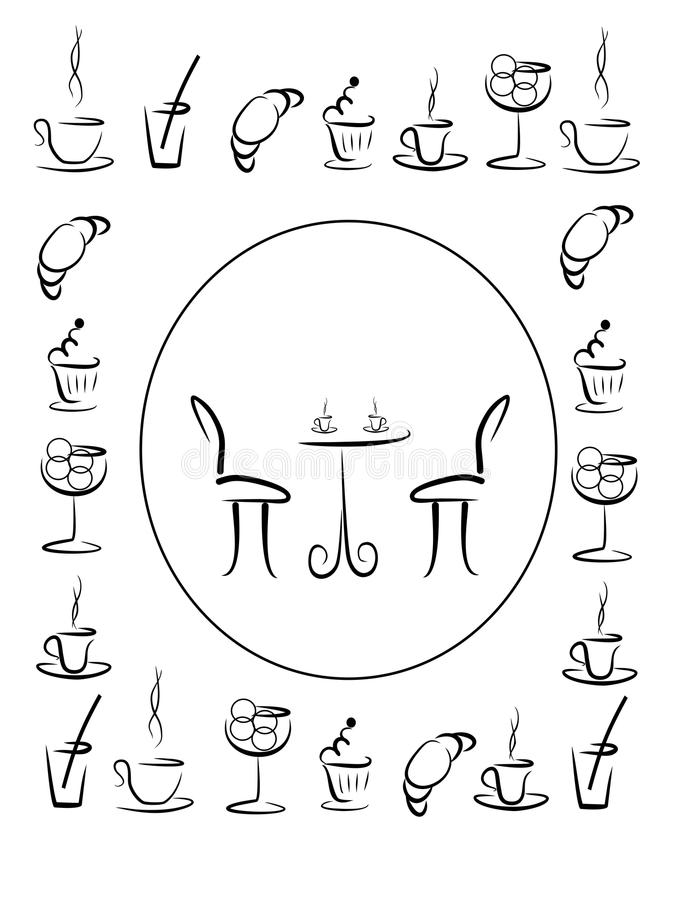 Cover for menu for cafe or coffee house stock illustration download cover for menu for cafe or coffee house stock illustration illustration of illustration malvernweather Gallery