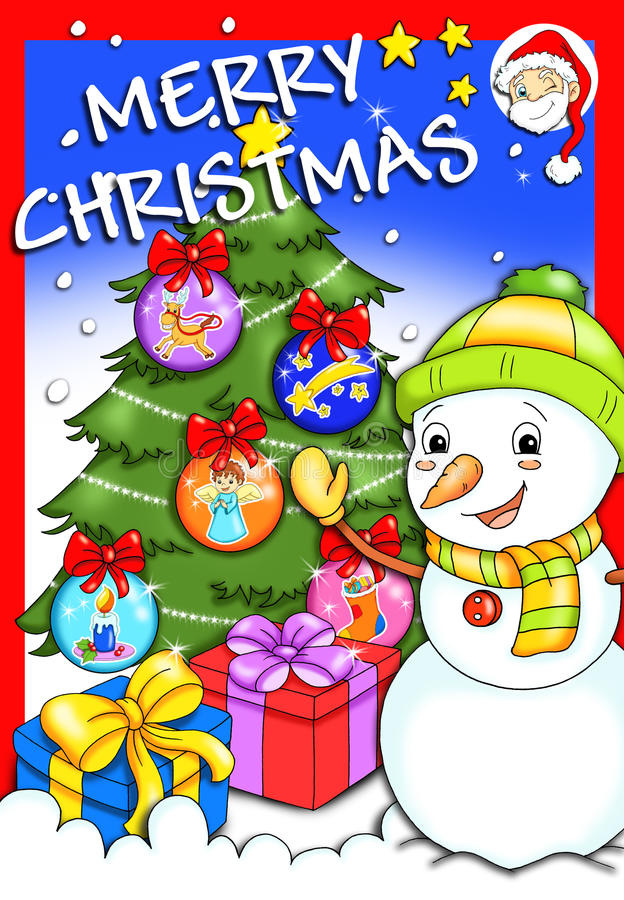Cover - Merry Christmas 2 stock image