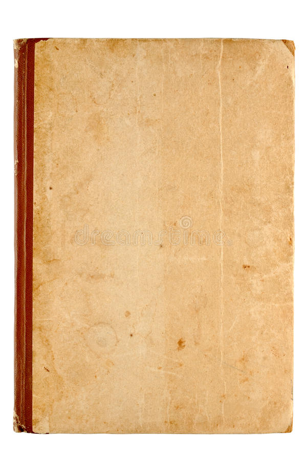 Cover of old book royalty free stock photography