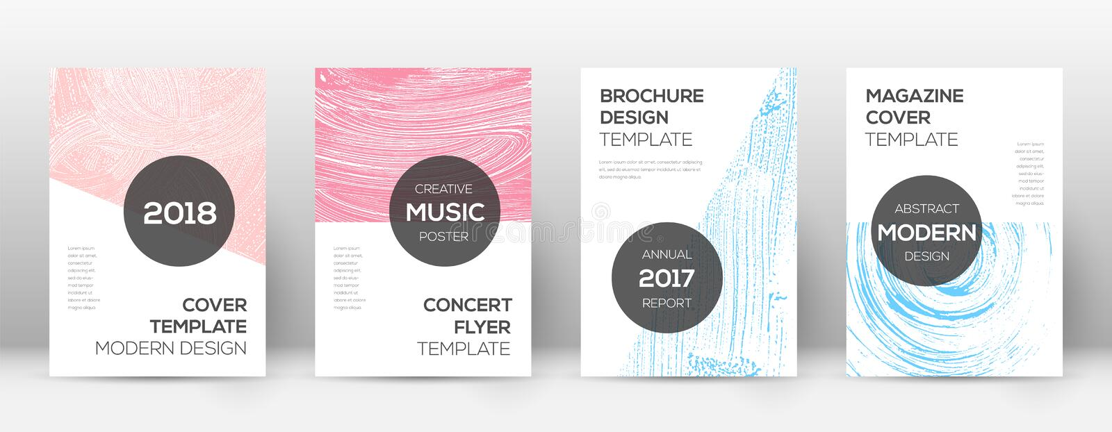 Cover page design template. vector illustration