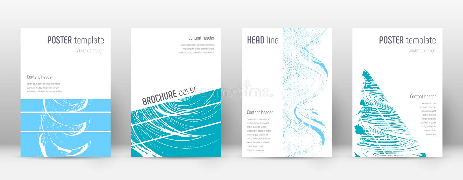 Cover page design template. Geometric brochure layout. Bold trendy abstract cover page. Pink and blu vector illustration