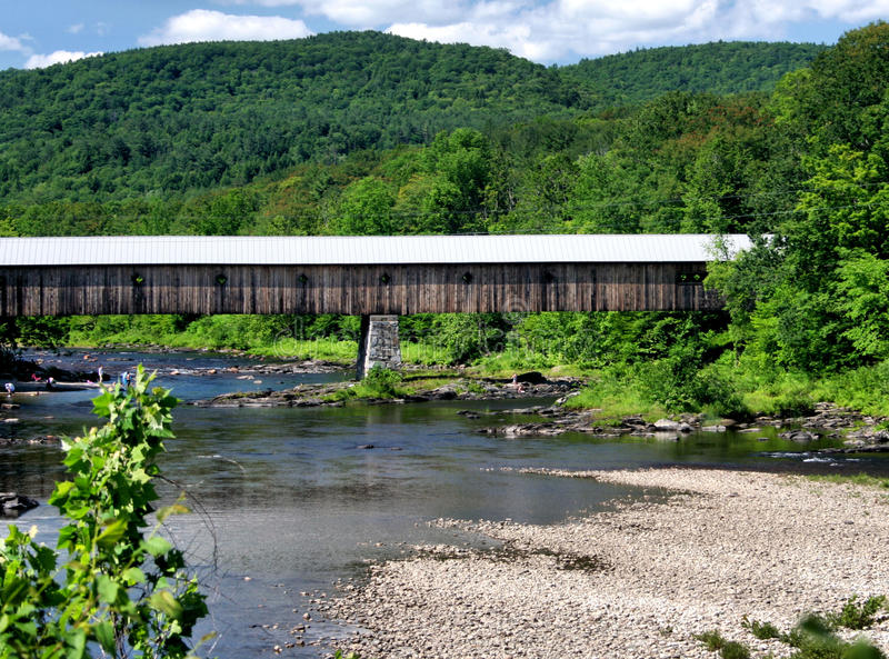 Download Covered Bridge Stock Photography - Image: 14828742