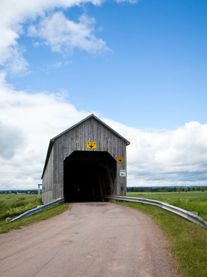 Download Covered Bridge Entrance stock photo. Image of wooden - 25659860