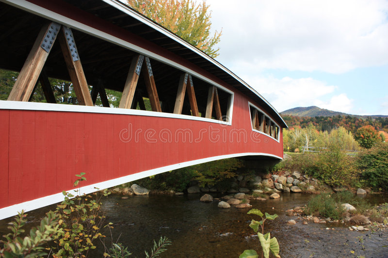 Covered Bridge New Hampshire royalty free stock photography