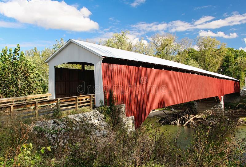 Covered Bridges of Southern Indiana royalty free stock photos