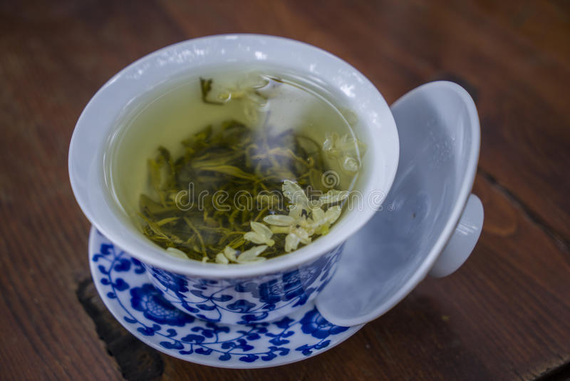 covered tea royalty free stock image