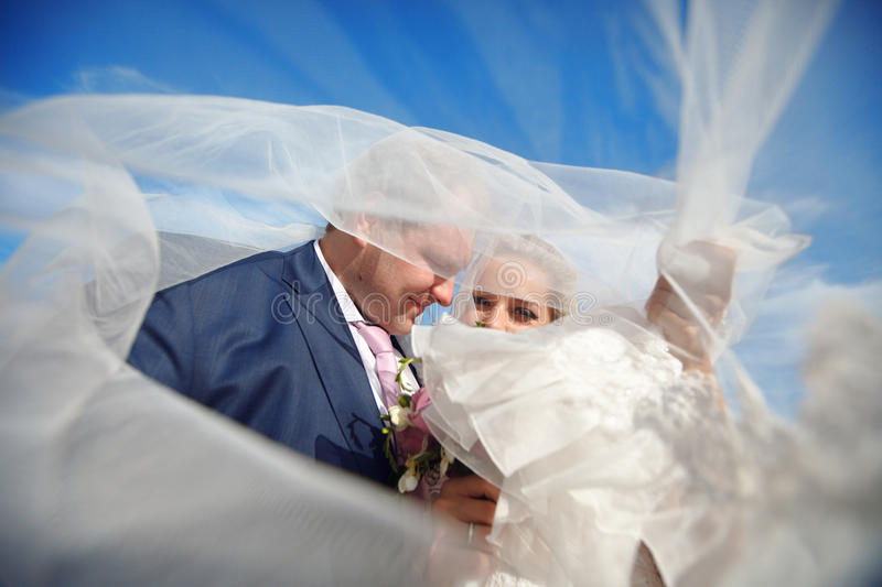Download Covered with veil stock photo. Image of beauty, clouds - 17515666