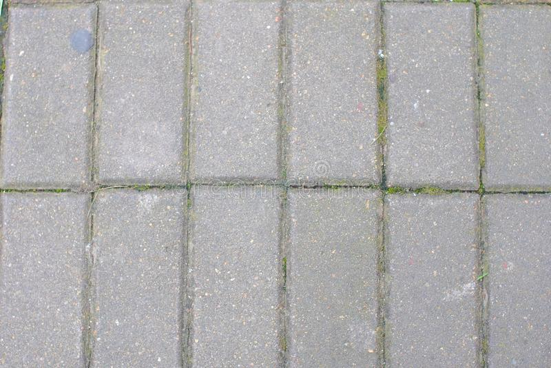 Covering for the pedestrian road. Texture road. stock photo