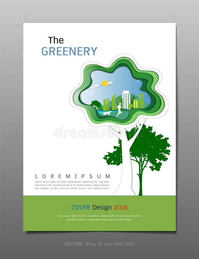 Covers Design Template, Inspiration For Green Energy And Save ...