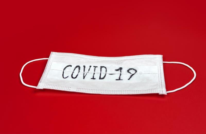 COVID-19 - Malattia da coronavirus - 2019-nCoV immagine stock libera da diritti