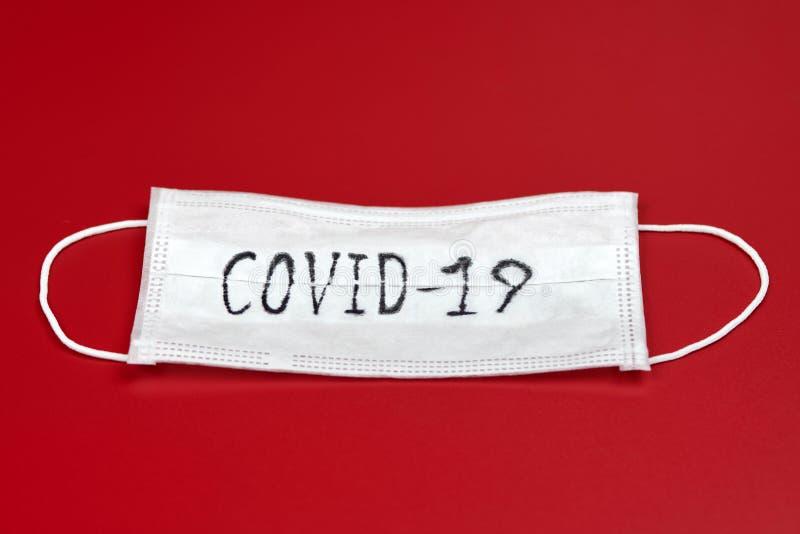 COVID-19 - Malattia da coronavirus - 2019-nCoV fotografia stock libera da diritti