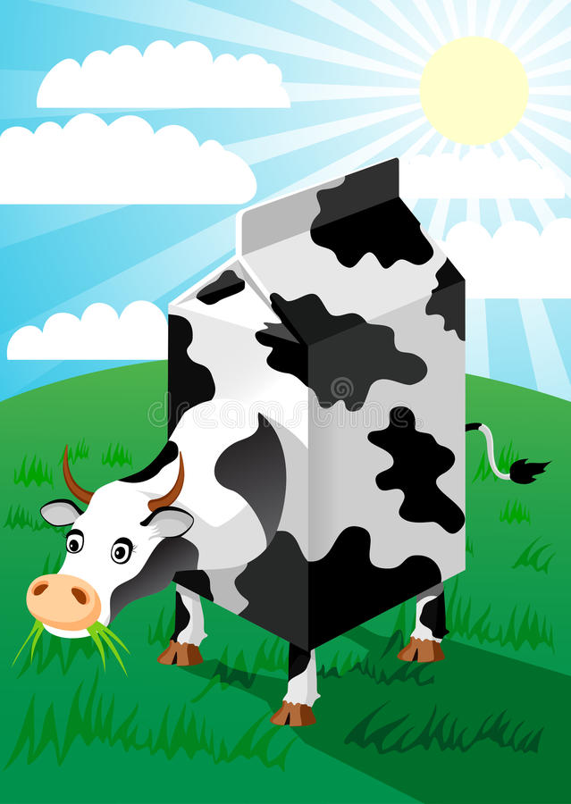 Download Cow stock vector. Image of farm, vector, agriculture - 17228326