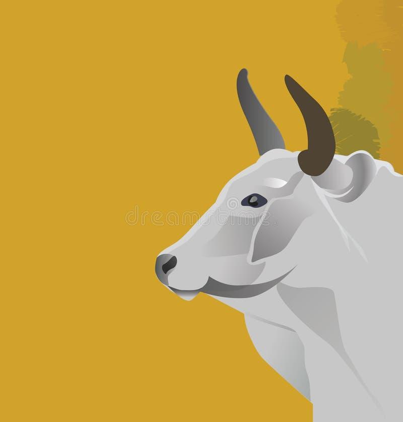 Cow-2 stock de ilustración