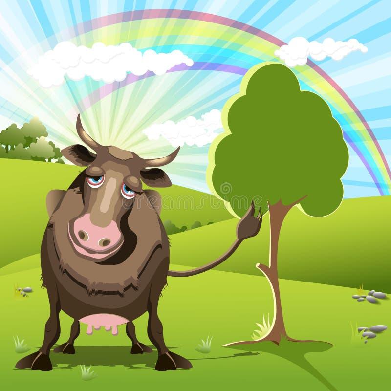 Cow royalty free illustration