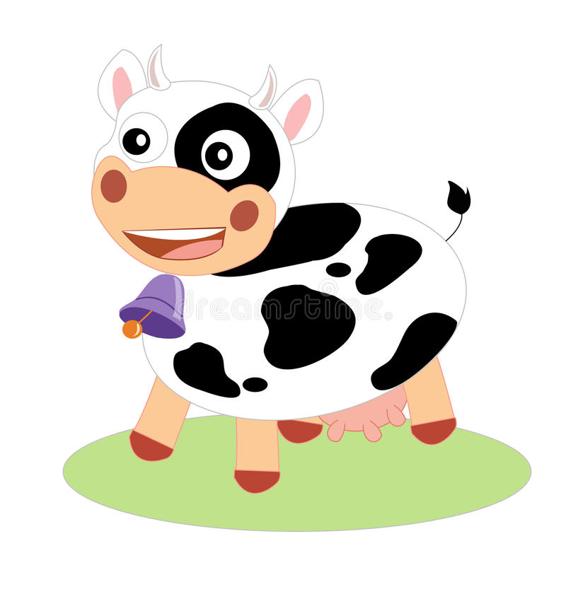 Download Cow stock vector. Illustration of mammalian, isolated - 20348638