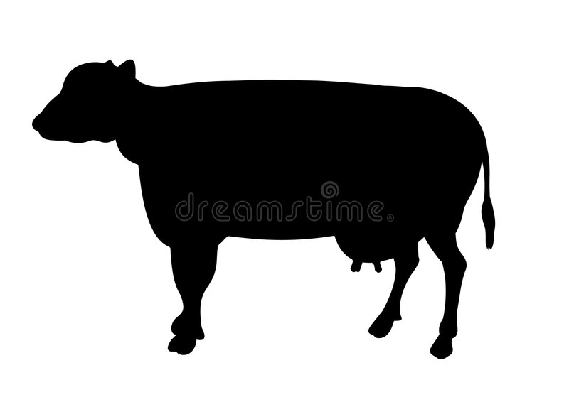 Download Cow stock illustration. Image of drawing, beef, milk, life - 2073764