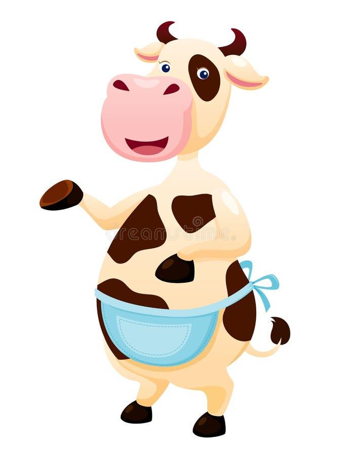 Download Cow stock vector. Illustration of mascot, animal, mammal - 26185032