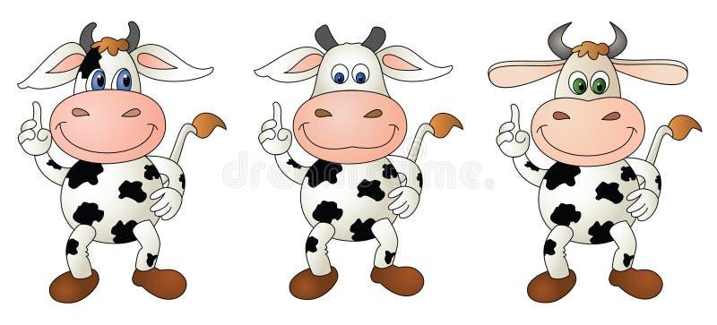 Cow 5 bare - composite royalty free stock photos