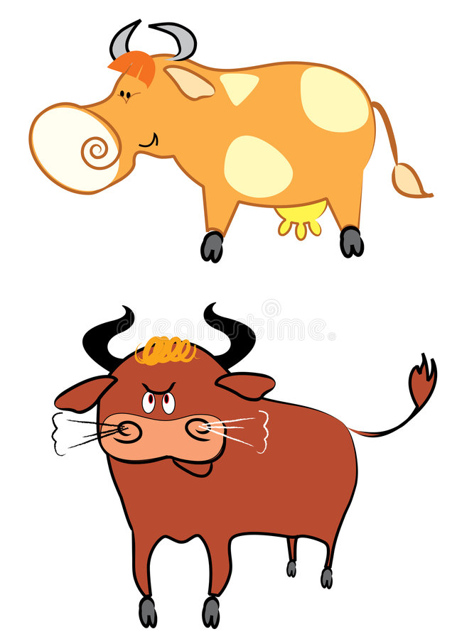 Download Cow And Bull Stock Photos - Image: 8414683