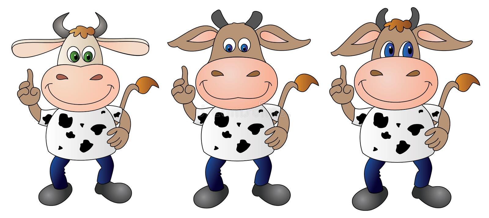 Cow 7 - Composite stock photography