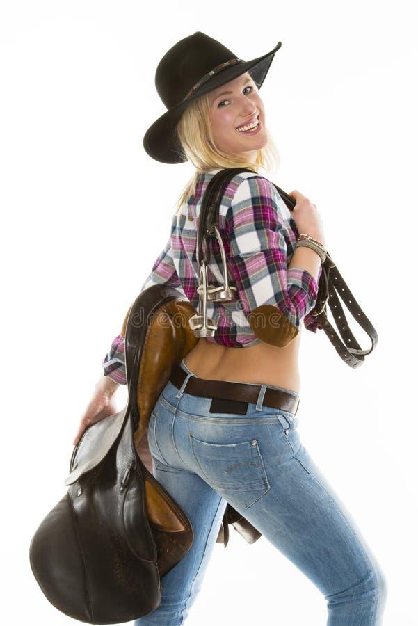 Cow-girl photos stock