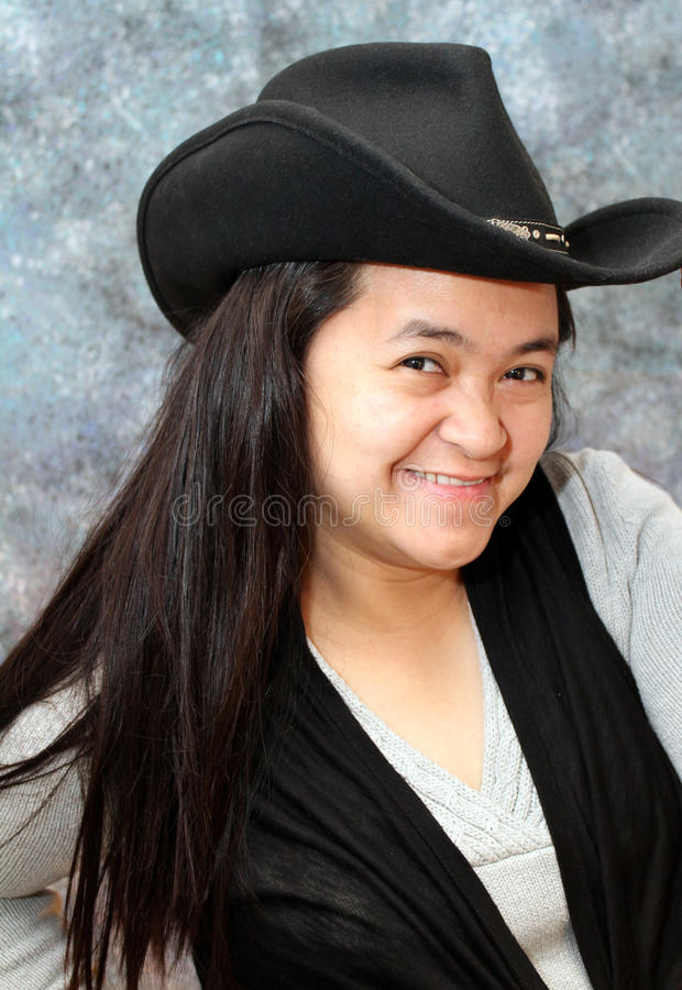 Cow-girl de Philippine image stock