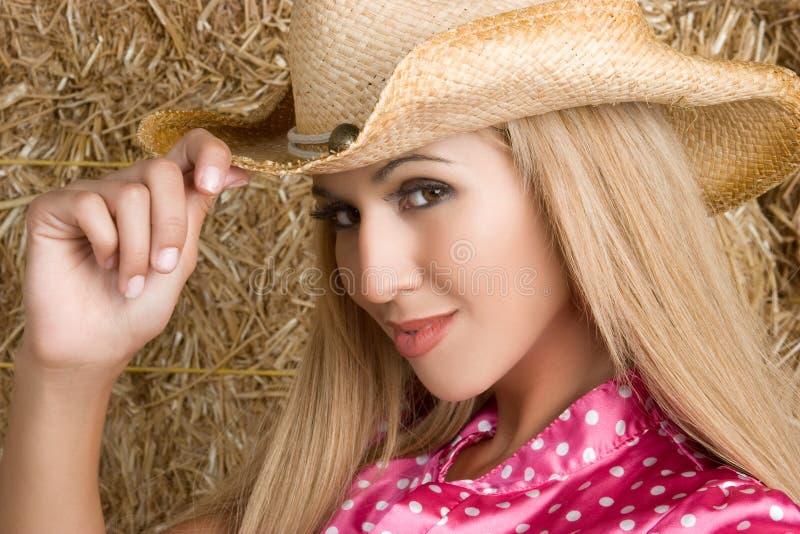 Cow-girl mexicaine image libre de droits