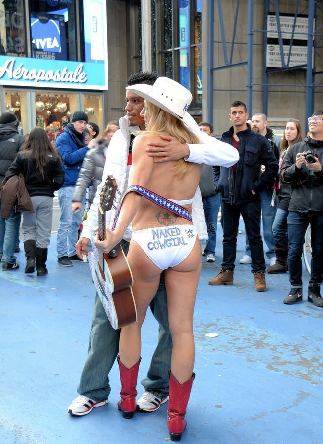 Cow-girl nue photo libre de droits