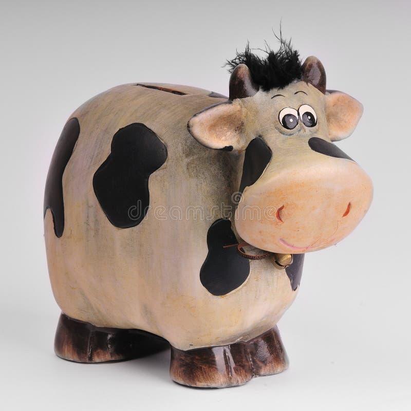 Download Cow moneybox stock photo. Image of white, souvenir, ceramic - 32049070