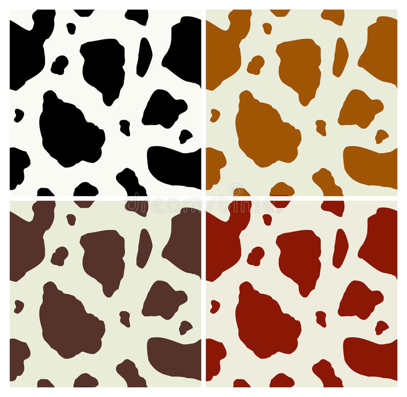 Free Cow Print Pattern Royalty Free Stock Photos - 13207618