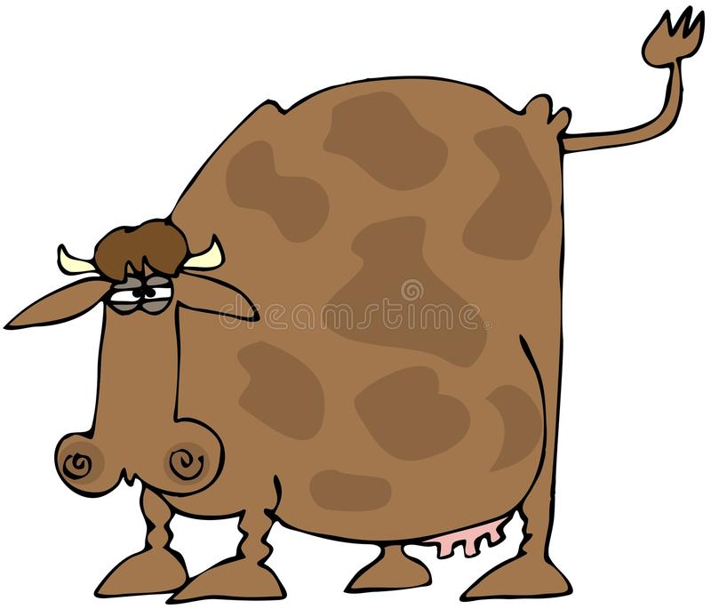 Download Cow With A Raised Tail Stock Photography - Image: 12383512