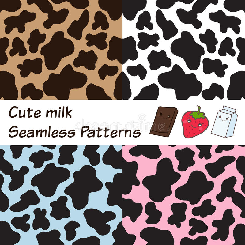Cow Spots Vector
