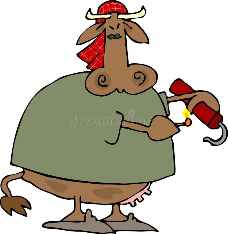 Download Cow Terror stock vector. Illustration of terror, livestock - 1833780