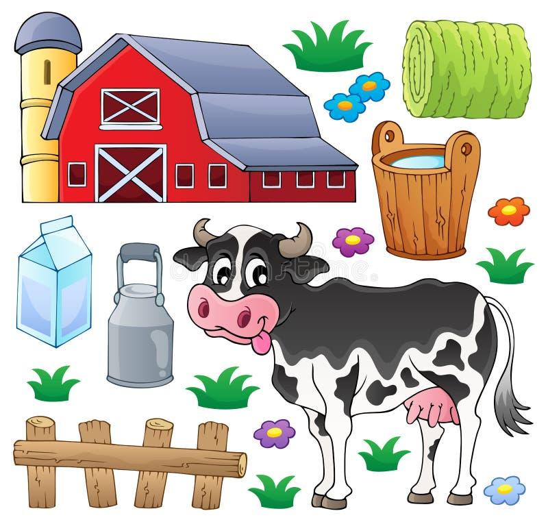 Free Cow Theme Collection 1 Stock Photos - 34156823