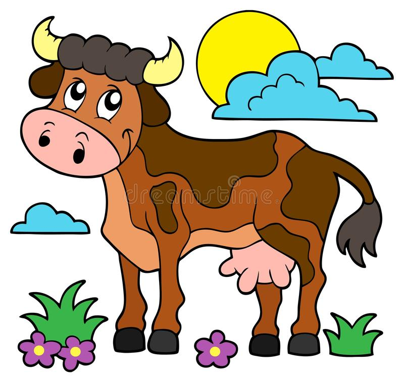 Free Cow Theme Image 1 Stock Photography - 53981972