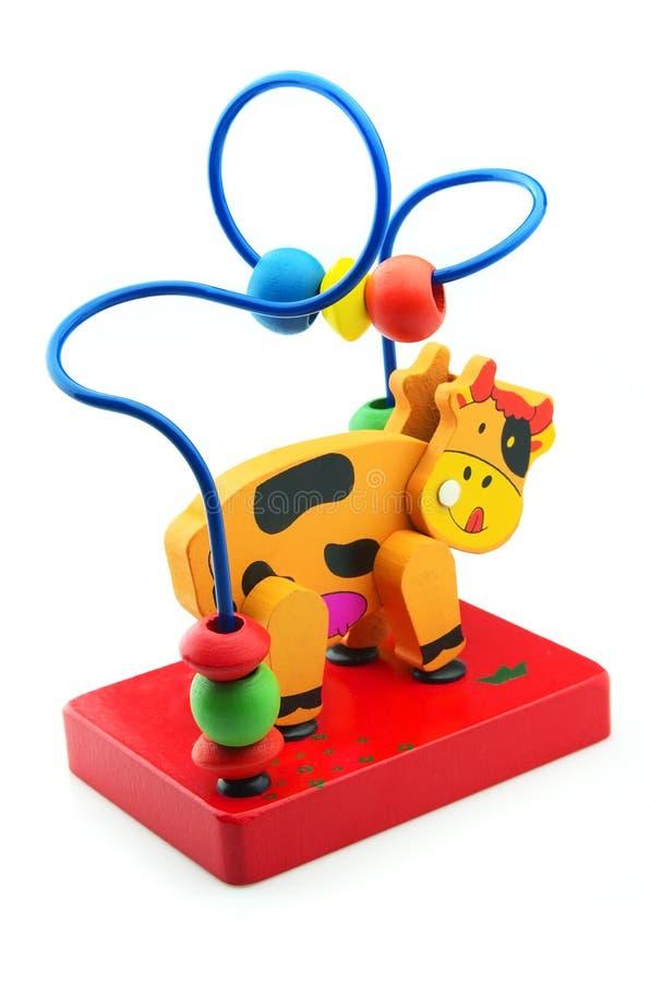 Cow-toy stock image