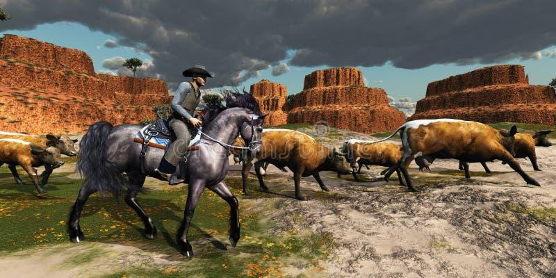 Cowboy 01 imagens de stock royalty free