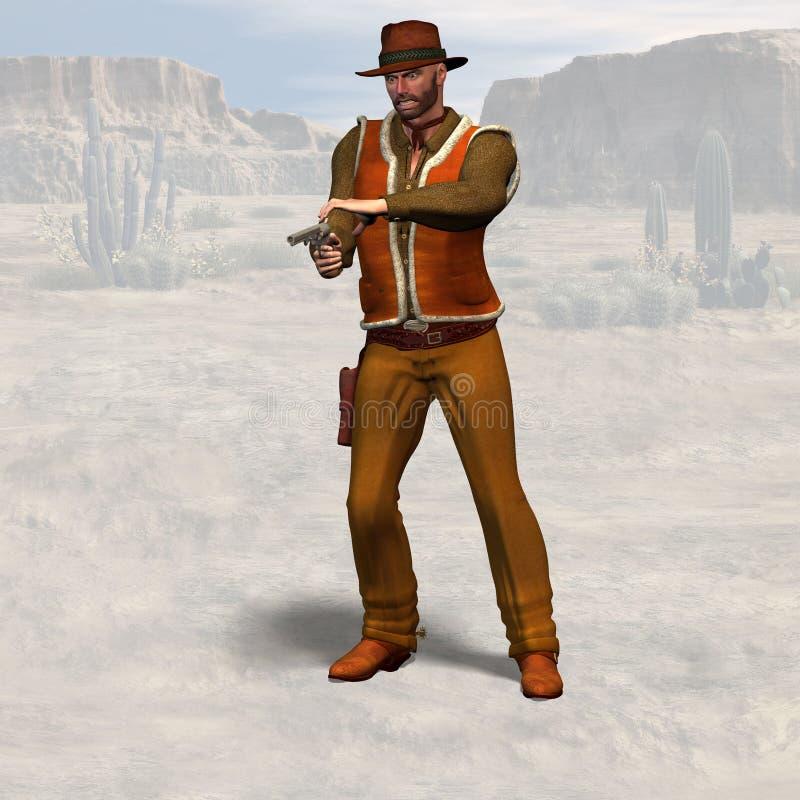 Cowboy #09 vector illustration