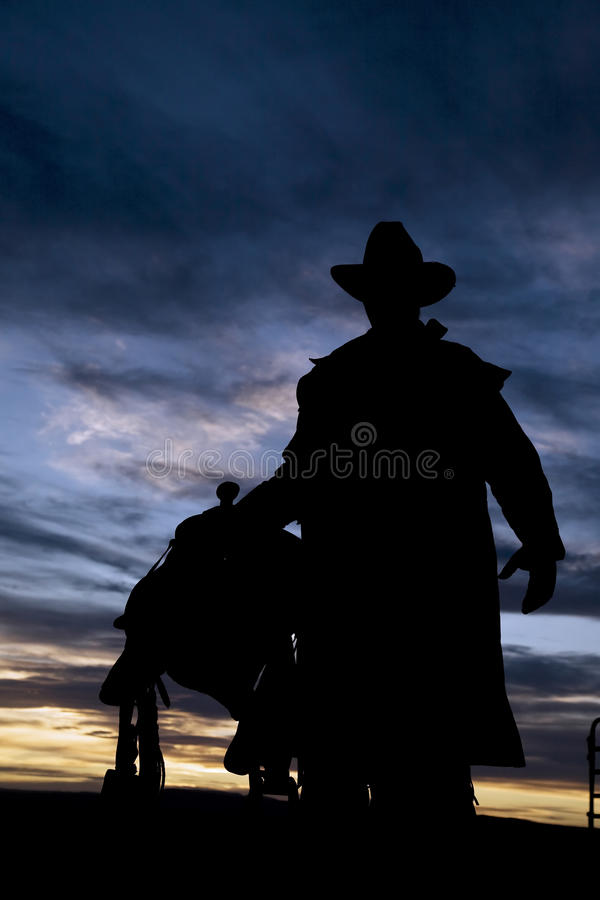 Download Cowboy stock image. Image of yellow, country, silhouette - 10256843
