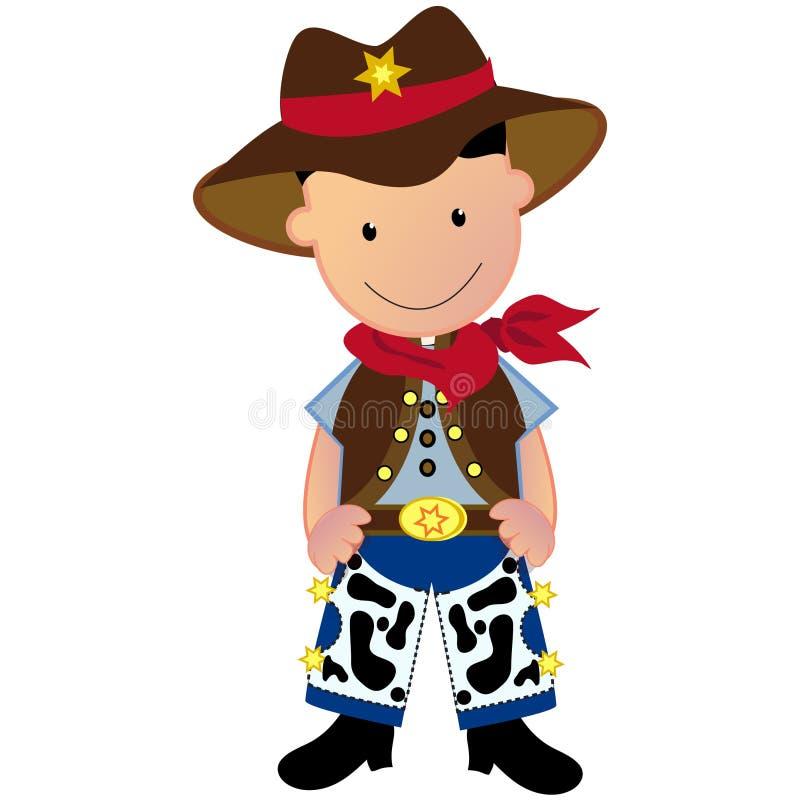 Cowboy stock illustration