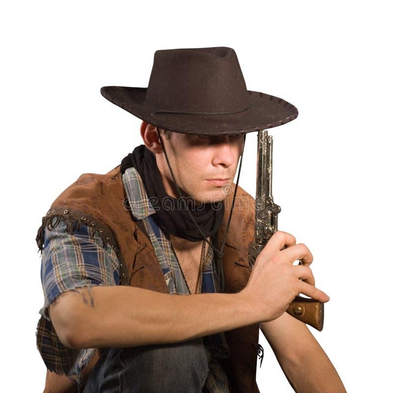 Cowboy lizenzfreies stockfoto