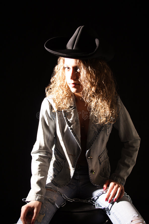 Cowboy royalty-vrije stock fotografie