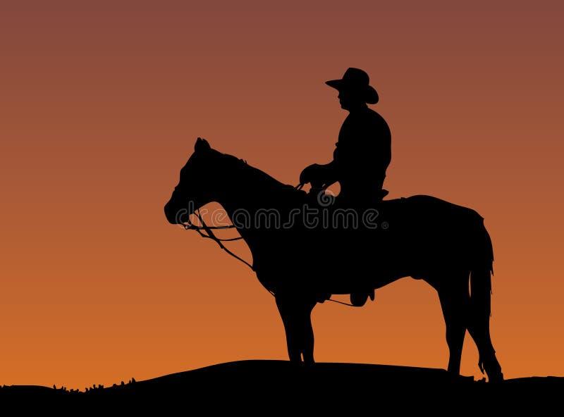 Cowboy vektor abbildung