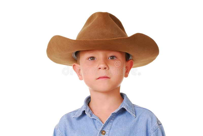 Cowboy 2 de garçon photographie stock libre de droits