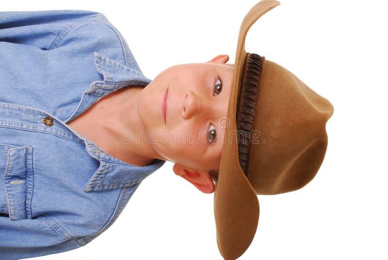 Cowboy 5 del ragazzo immagini stock